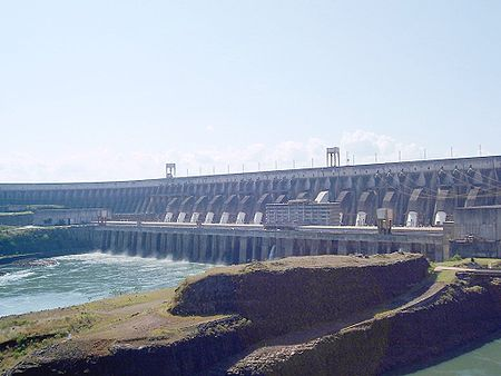 Brazil's Itaipu: world's second largest dam for hydroelectricity